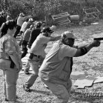 Know what to do with your carry gun. Above, the live-fire portion of an LFI-I class is in progress in Wisconsin.