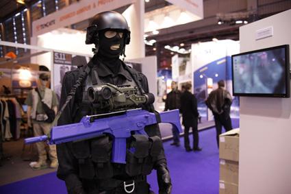 black-man-blue-gun