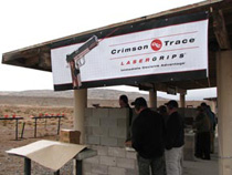 Range time with Crimson Trace