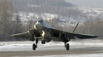 Russia Stealth Fighter