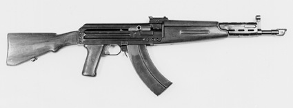 Experimental Bulkin assault rifle AB-47, from the famous Tula armory was a more polished design than some submissions.