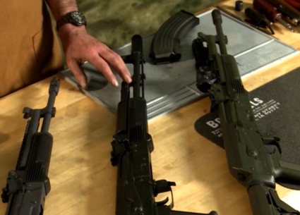 Choosing the right Kalashnikov rifle