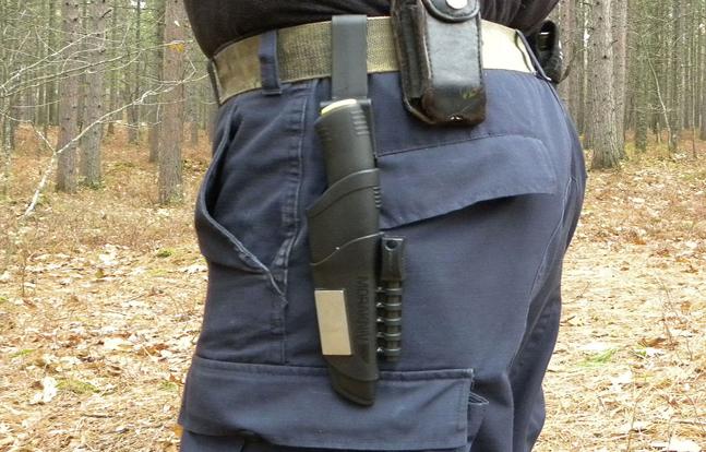 Mora's Bushcraft Survival Knife