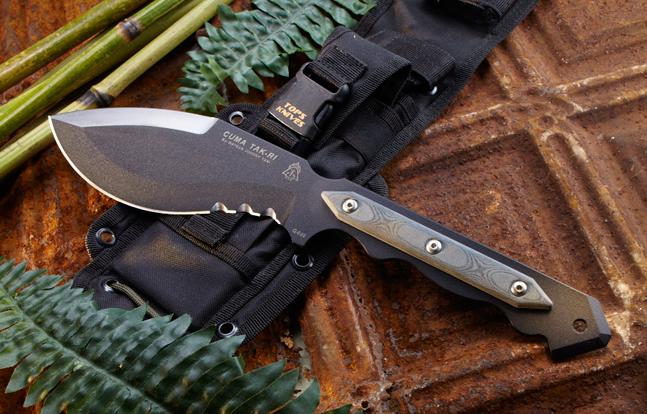 TOPS Knives Cuma TAK-RI