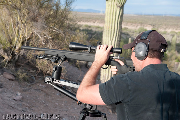McMillan Precision-Rifle Course Loophole Shooting