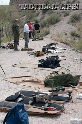 McMillan Precision-Rifle Course Shooting Platform