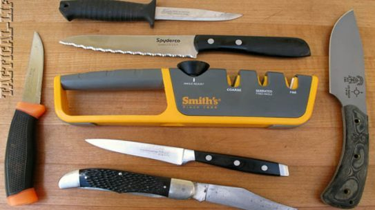 Smith's Consumer Products Adjustable Angle Pull-Thru Knife Sharpener