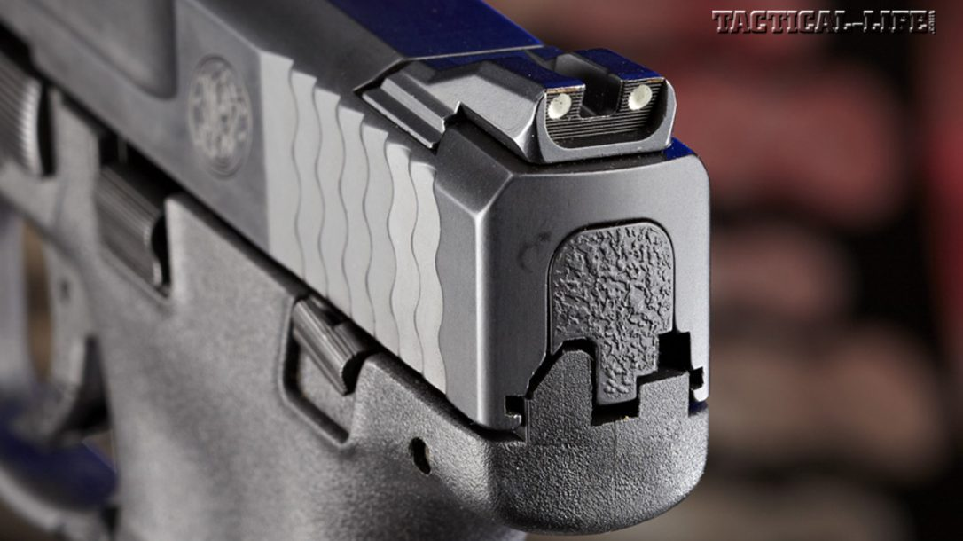 Smith & Wesson M&P Shield 9mm - Rear Sight