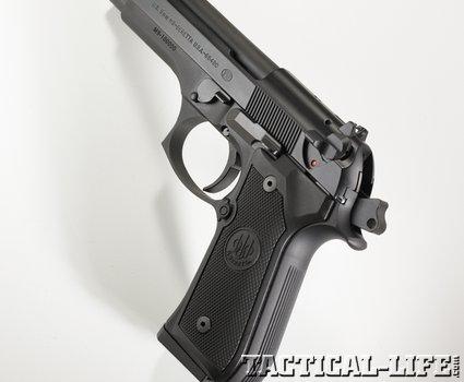 Beretta M9 pistol phatch lead