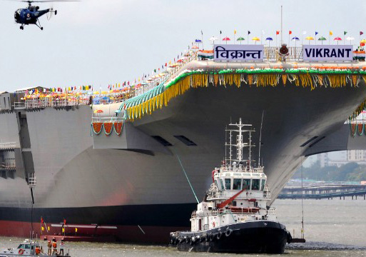 India Aircraft Carrier Vikrant