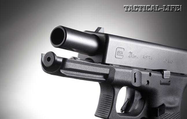Glock 21 Gen4 Review, G21 Review, barrel