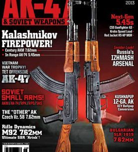 AK-47 & Soviet Weapons 2013 Cover Image