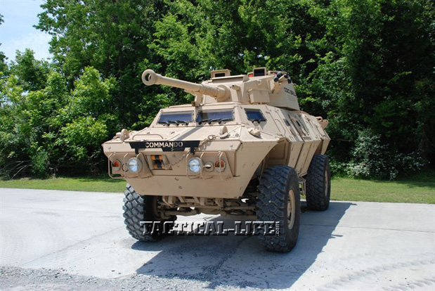 AUSA 2013 Annual Meeting - Textron Marine and Land Systems Commando