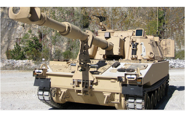 BAE Systems Paladin-Integrated Management Howitzer