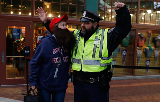Boston PD On Alert During World Series