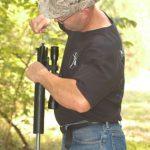 Bill Alexander Cleaning Alexander Arms .17 HMR