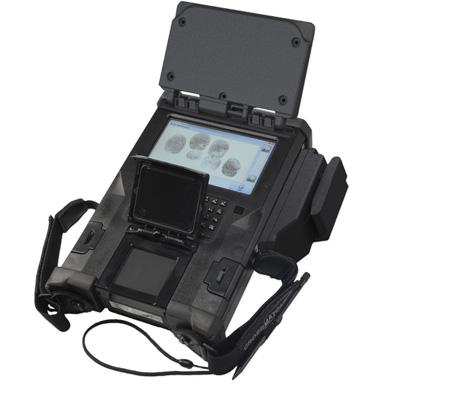 IACP 2013 - Cross Match SEEK Avenger with ePassprt and MRZ accessories