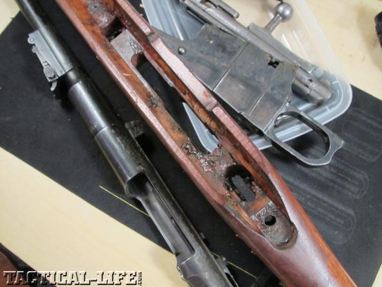 Degrease Military Surplus Guns Disassemble