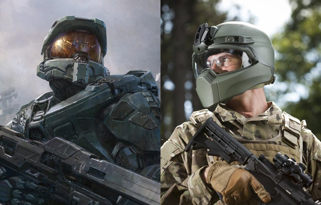 Designer Denies New Military Helmet is Based on 'HALO' Video Game