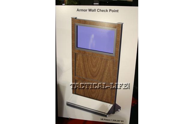 IACP 2013 -Patriot 3 Armor Wall