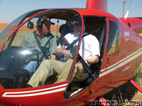 LaRue Tactical PredatAR OBR Helicopter Take Off