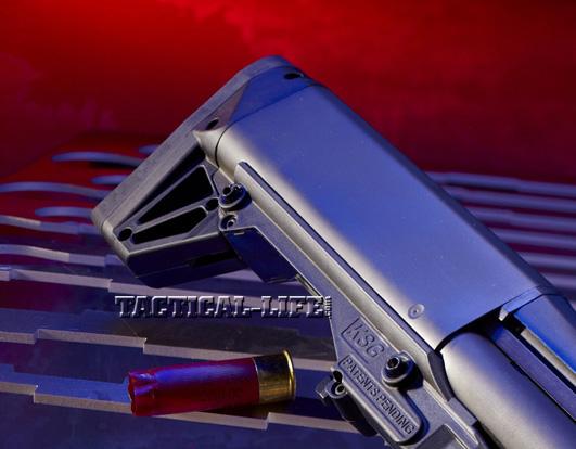 Law Enforcement Shotguns - Kel-Tec KSG - Butt end