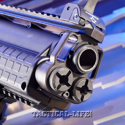 Law Enforcement Shotguns - Kel-Tec KSG - muzzle