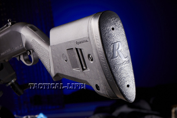 Law Enforcement Shotguns - Remington 870 Express Tactical Magpul - Butt end
