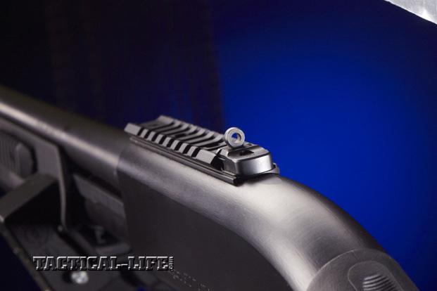 Law Enforcement Shotguns - Remington 870 Express Tactical Magpul - Rear sight