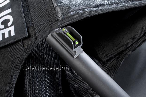 Law Enforcement Shotguns - Stevens 320 - Front sight