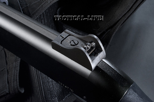 Law Enforcement Shotguns - Stevens 320 - rear sight