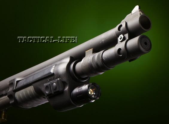 Law Enforcement Shotguns - Mossberg 590A1 - Surefire forend