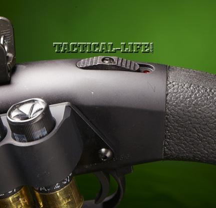 Law Enforcement Shotguns - Mossberg 590A1 - safety