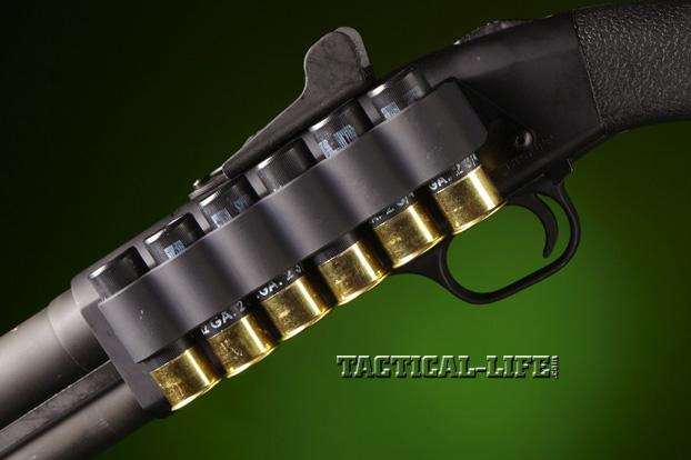 Law Enforcement Shotguns - Mossberg 590A1 - shell carrier