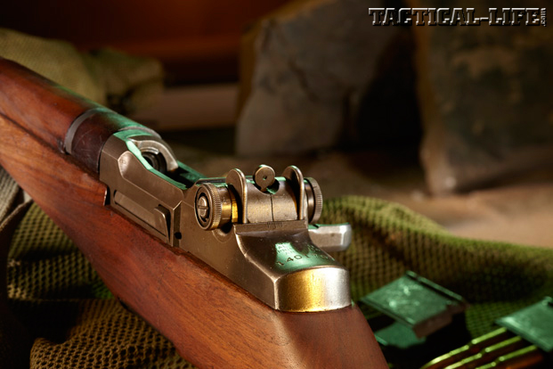 M1 Garand Rear Peep Sight