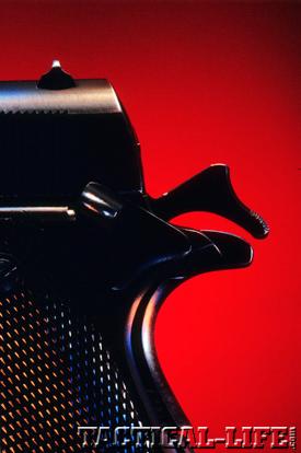 M1911 Back Close Up