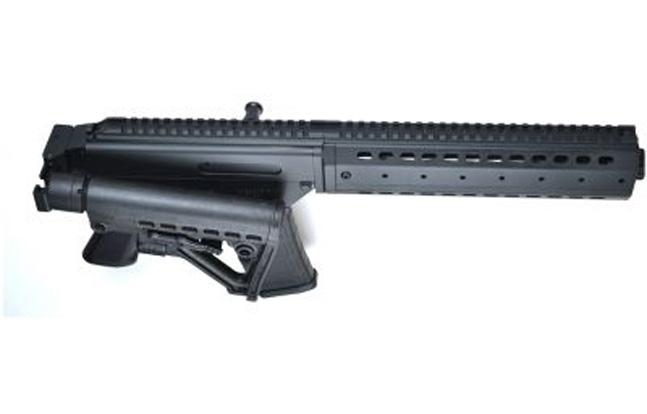 MPAR 556 Sporting Rifle side folder 6-position polymer buttstock