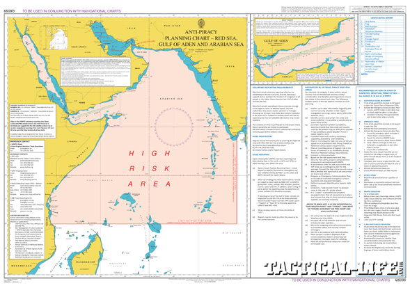 Piracy High Risk Area