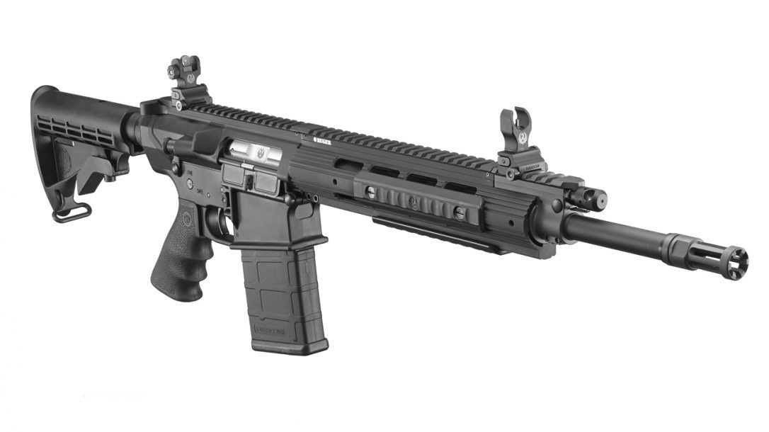 Ruger SR-762 Piston-Driven Rifle