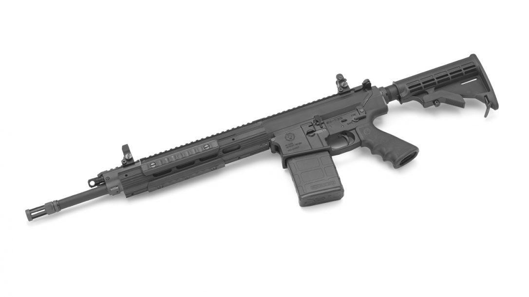 Ruger SR-762 Piston-Driven Rifle left side