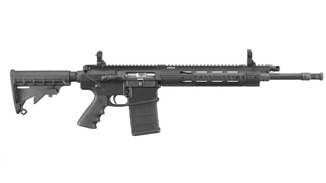 Ruger SR-762 Piston-Driven Rifle right side