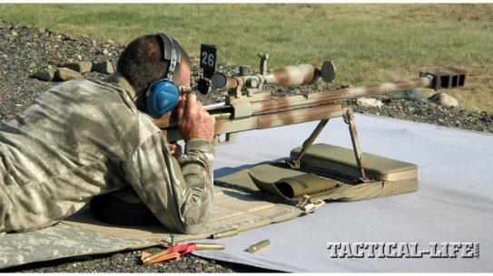 SGM Walt Wilkinson shooting the Steyr HS-50