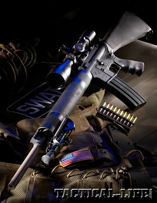 STAG ARMS model 7 bluelight