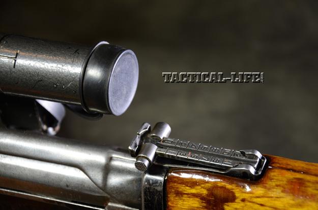 Soviet Weapons Dragunov Sniper Rifle adjustable sights
