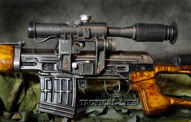 Soviet Weapons Dragunov Sniper Rifle controls