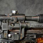 Soviet Weapons Dragunov Sniper Rifle scope