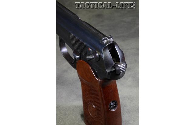Soviet Weapons Makarov rear sight and hammer