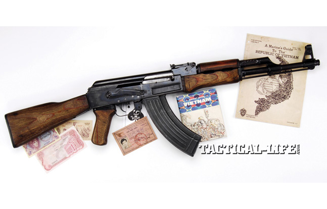 Soviet Weapons Tet Offensive NVA Izmash with Artifacts