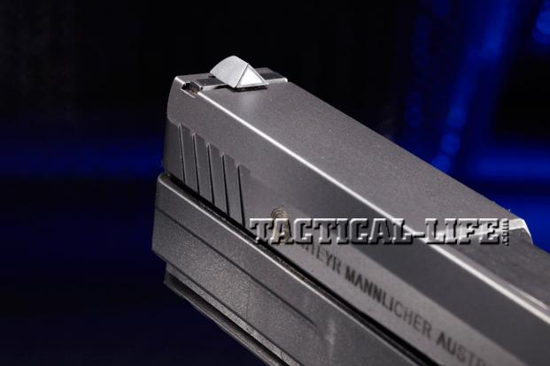 Combat Handguns Steyr-L9-A1-front-sight