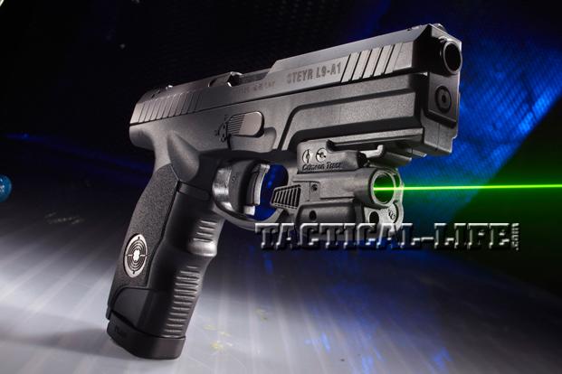 Combat Handguns Steyr-L9-A1